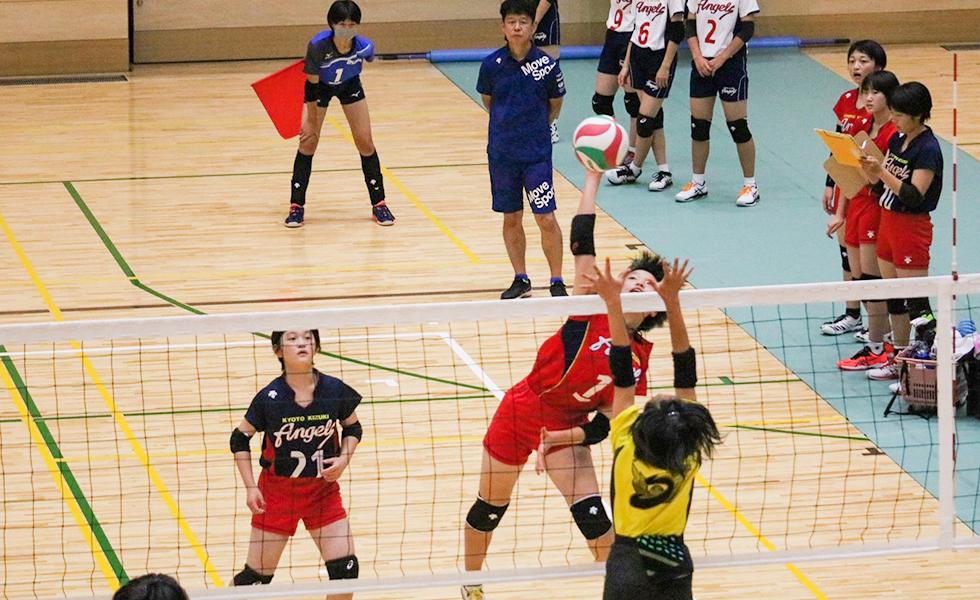 入部するには 京都の中学バレーボール教室 チーム 気づいて築くバレーボール
