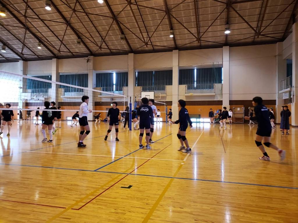 エンジェルズ 年末年始活動報告③東海大学仰星中学校練習試合