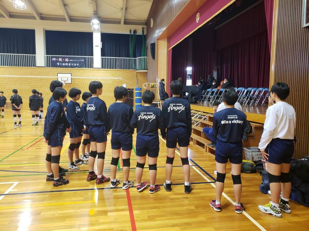 エンジェルズ 年末年始活動報告④播磨ヤング練習試合